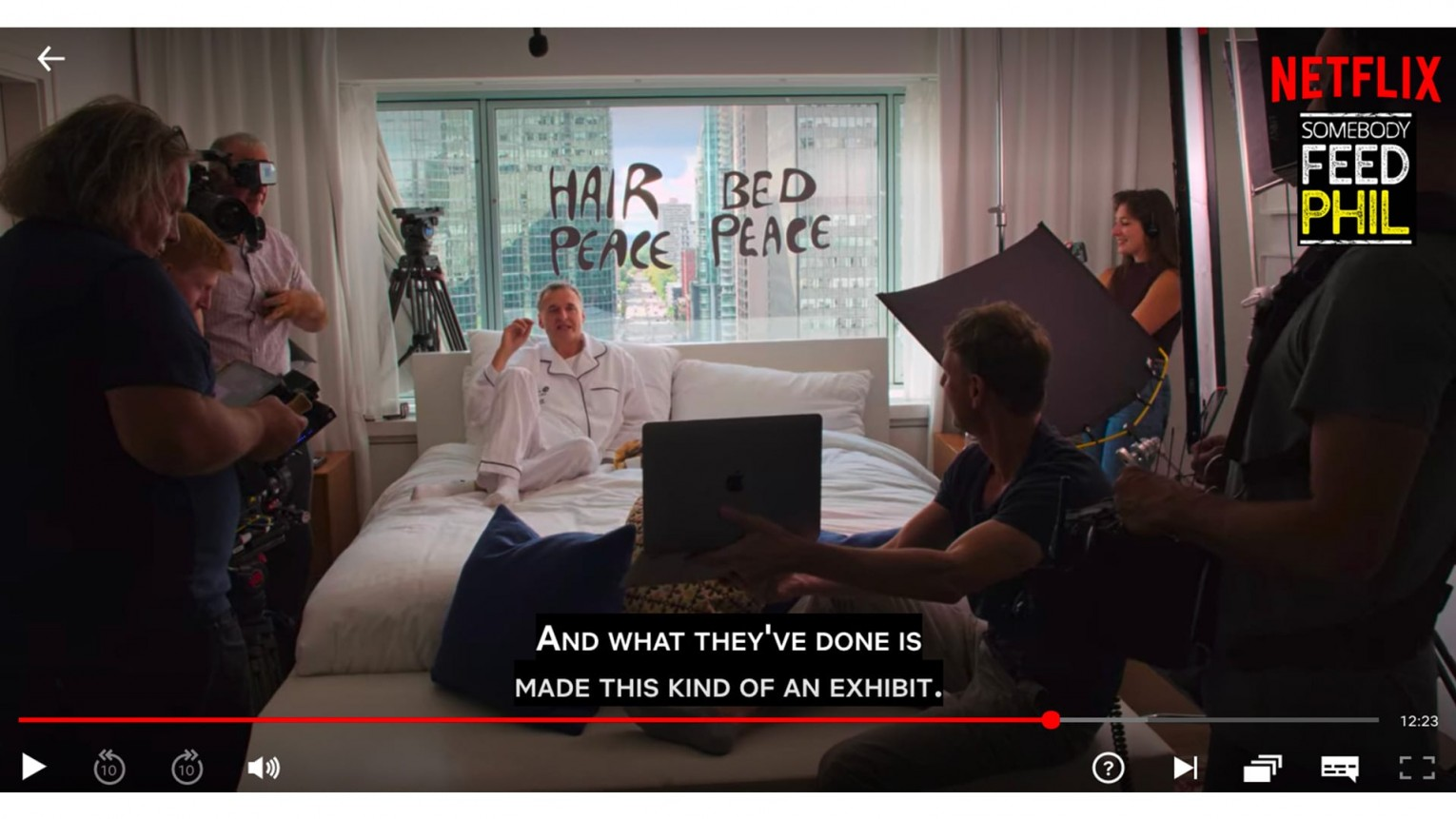 Award-Winning John Lennon and Yoko Ono<br> Bed-In For Peace's Suite 1742 | MASSIVart - Experiential & Interactive Installations