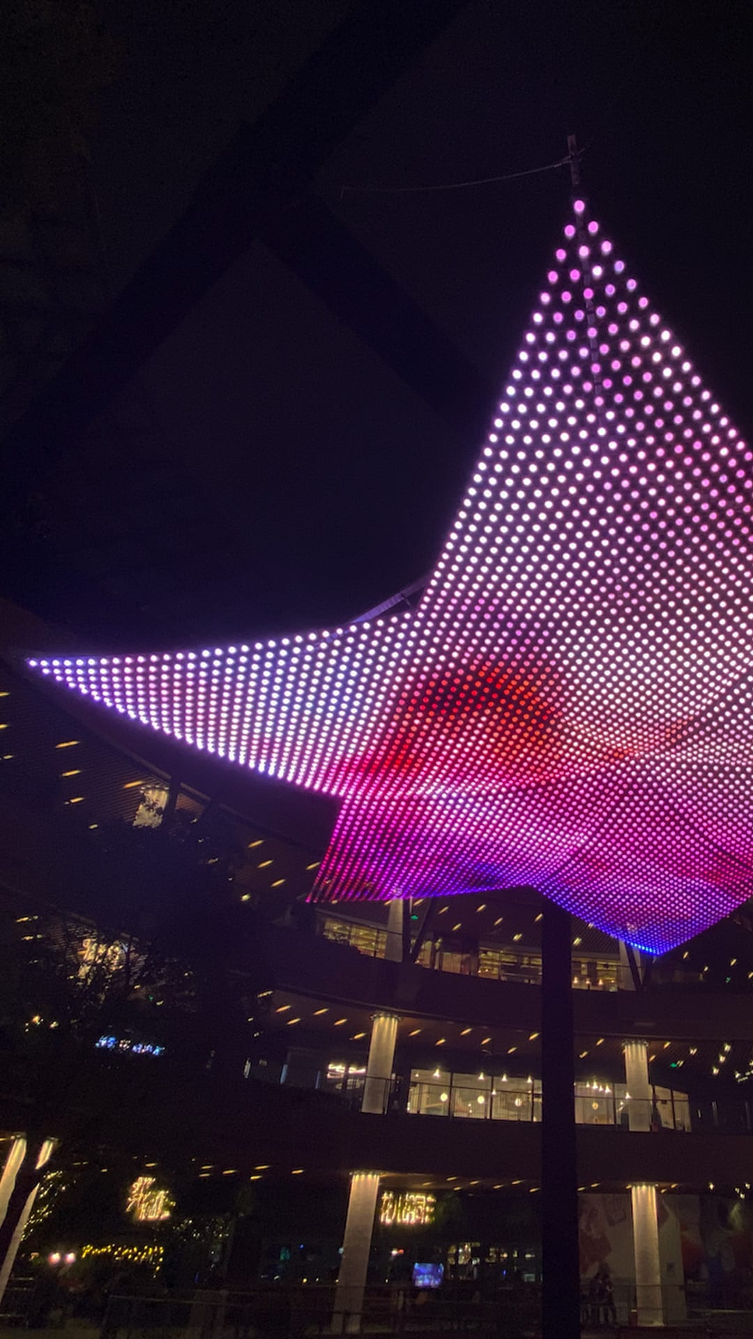 Christopher Schardt's Constellation Lights up the Sky | MASSIVart - Public Art