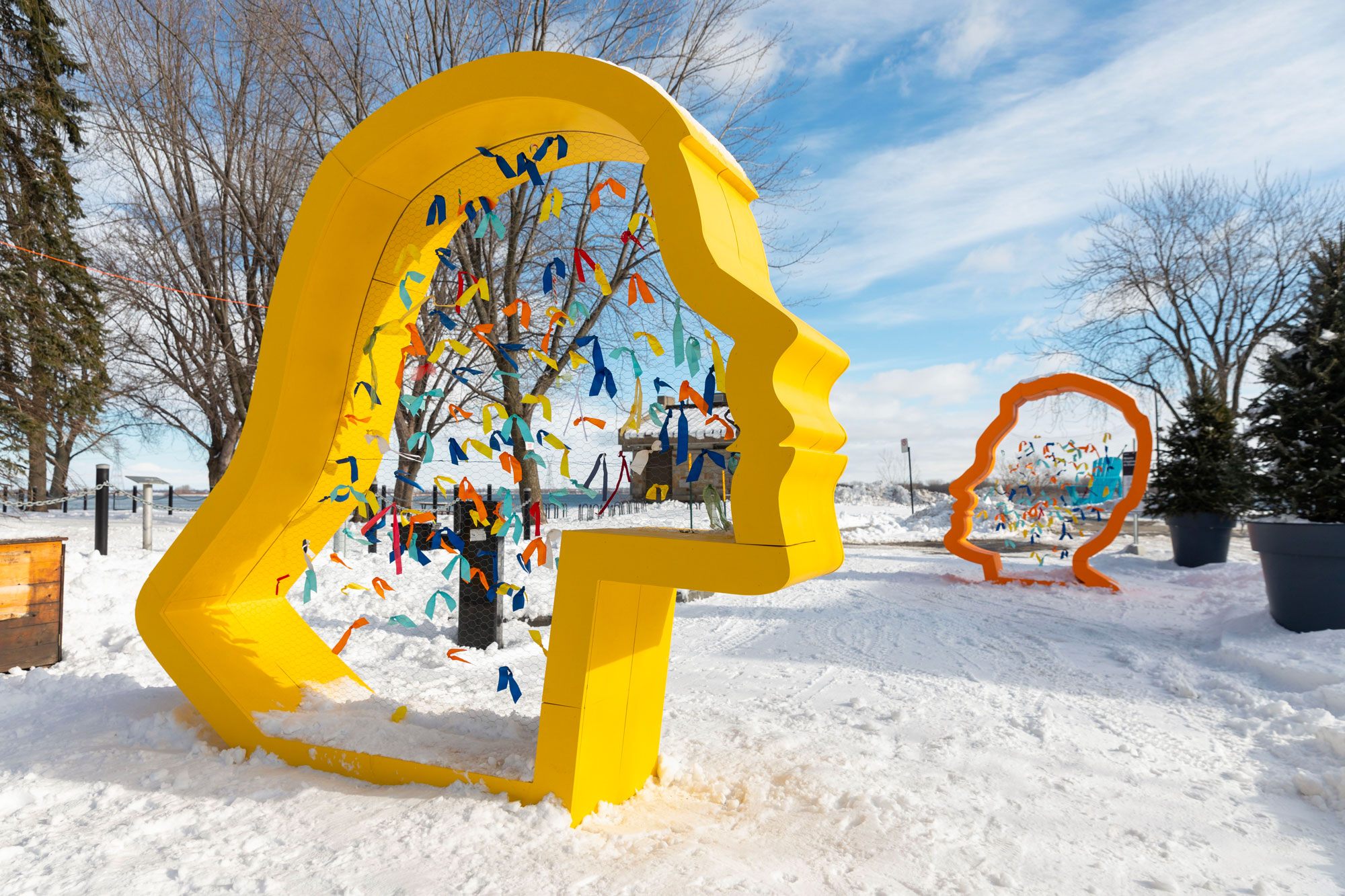 Stations hivernales Montreal - Creative Placemaking - Public Art - MASSIVart