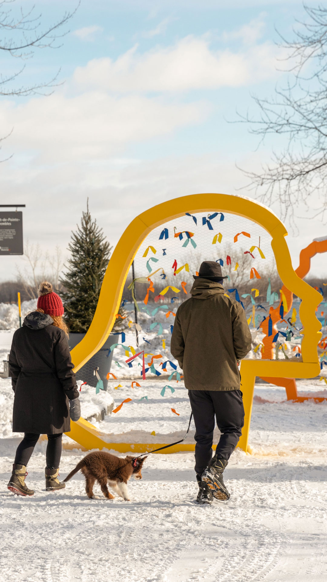 Bright and welcoming urban stops in 17 boroughs of Montreal | MASSIVart - Art Integration