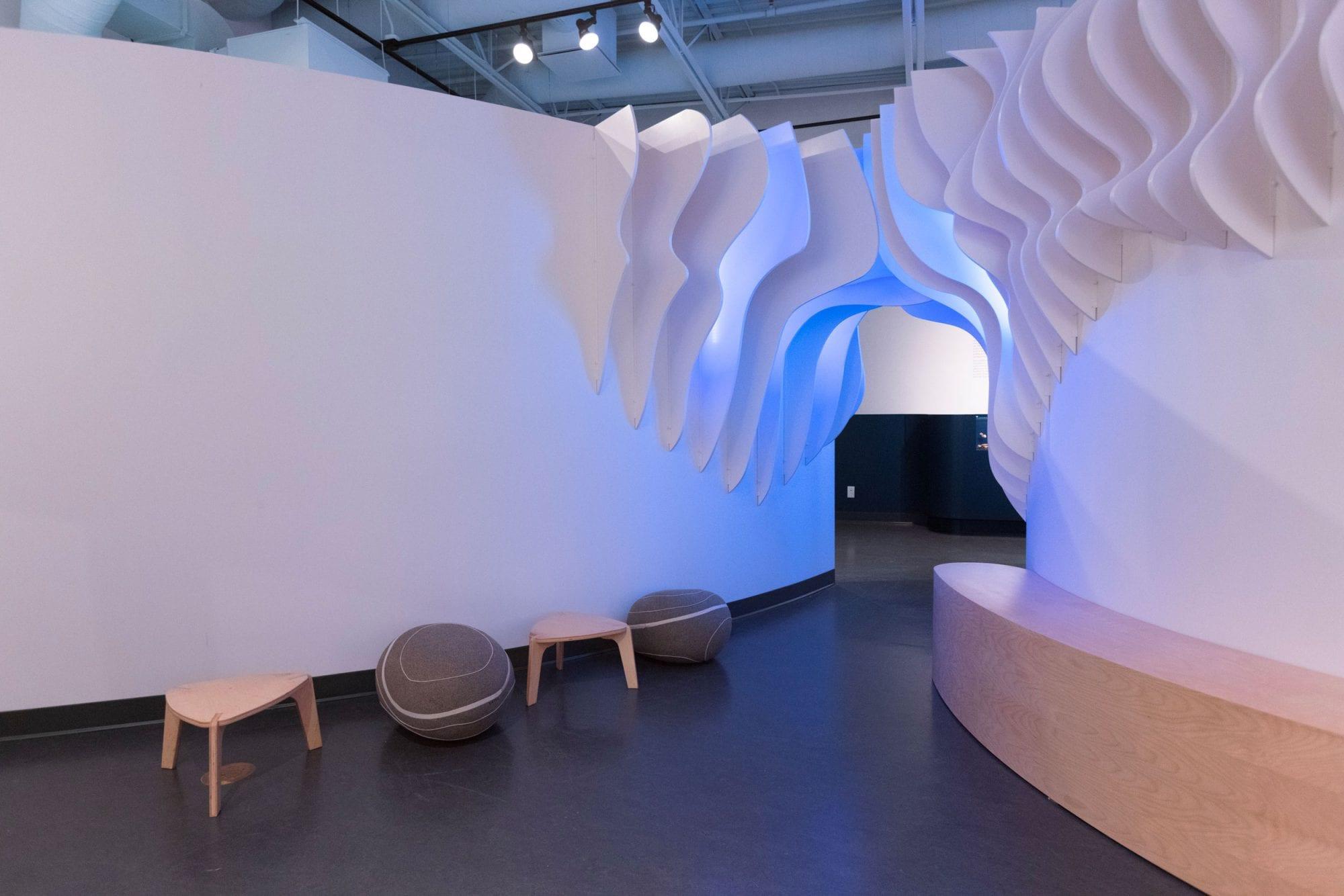 Musée de la Gaspésie - Exhibition & Museum Design - Interactive immersive design