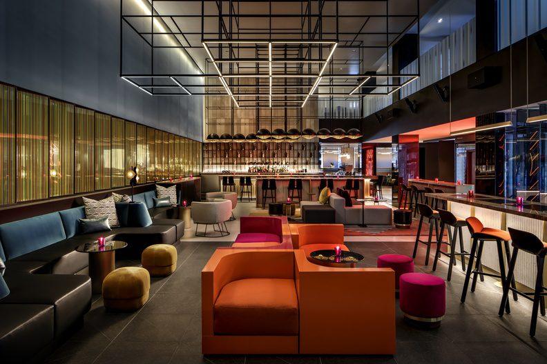 W Hotel - Interior Design - Art Curation - MASSIVart