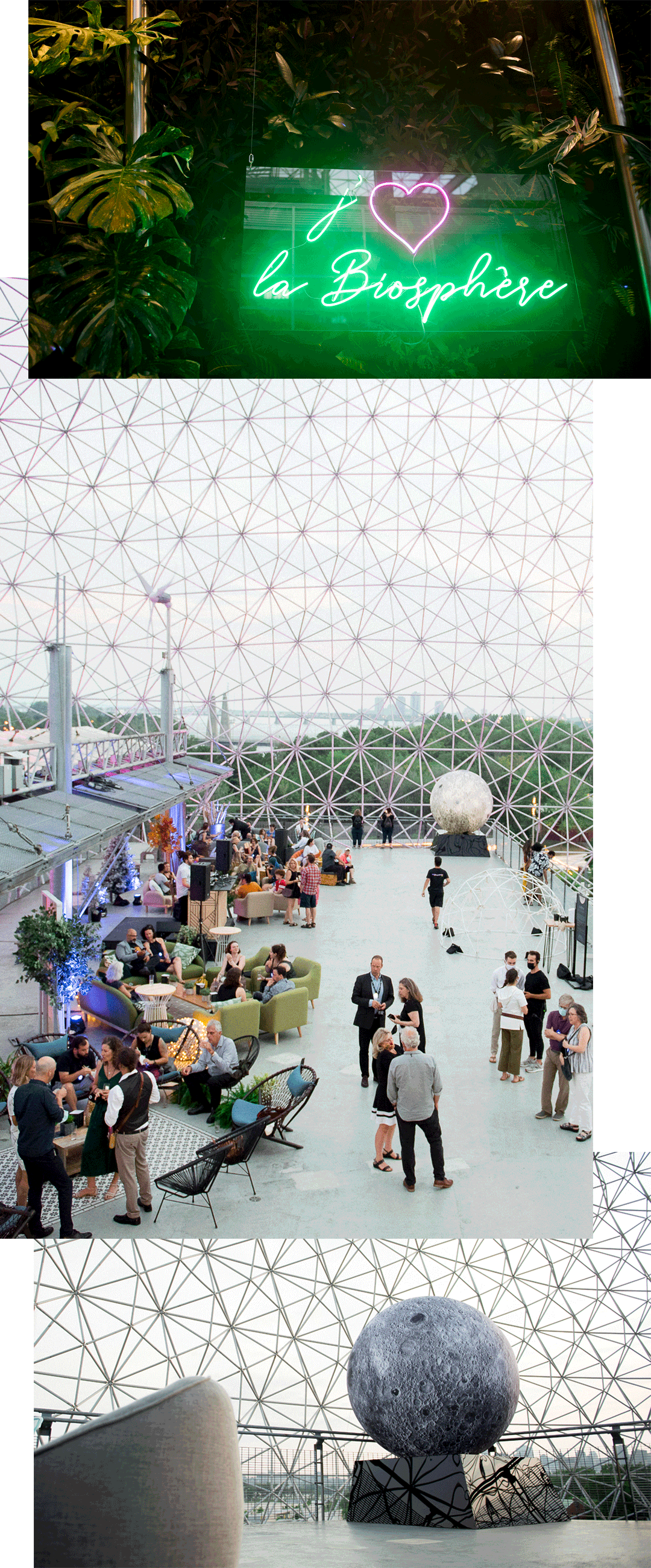 Biosphère, a utopic night at the museum | MASSIVart - Creative Events & Pop-up Production