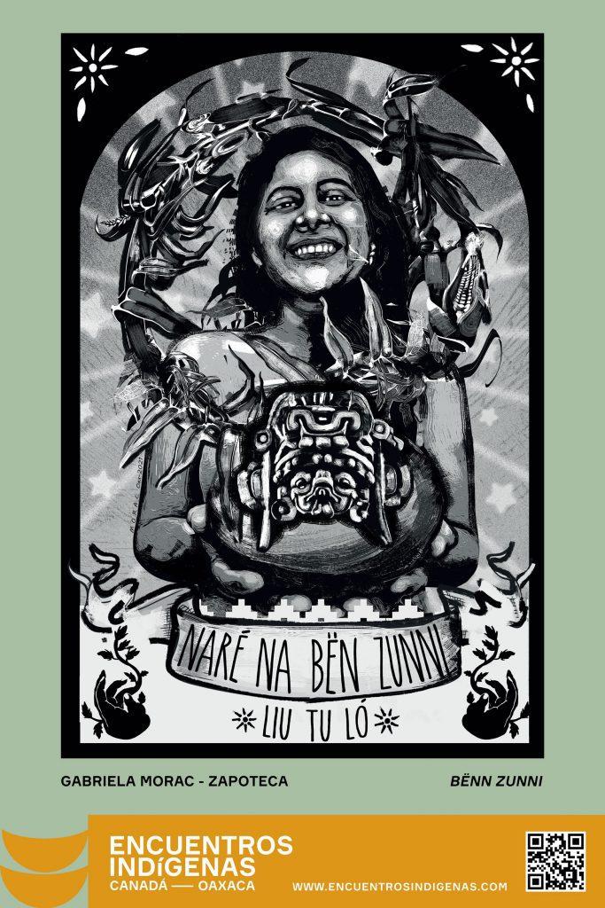 "Gabriela Morac (Zapoteca) ""BËN ZUNNI"" - Oaxaca Indigenous cultures festival"