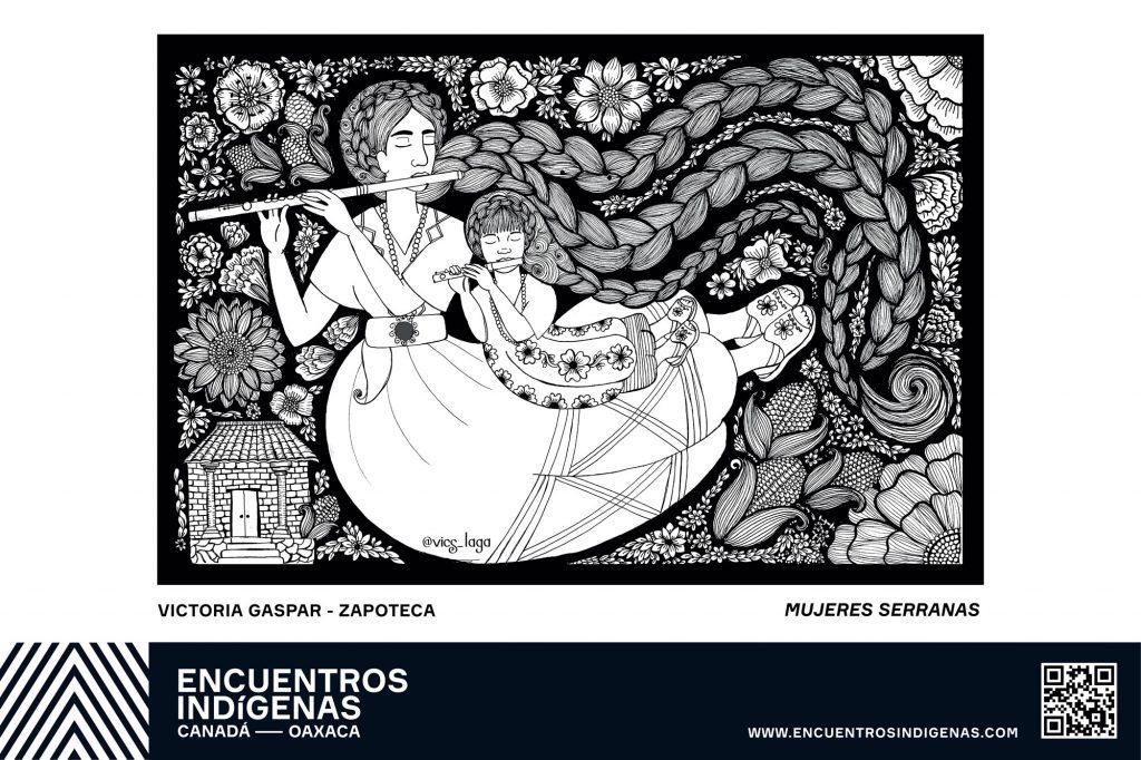 Victoria Gaspar (Zapoteca) Mujeres Serranas - Oaxaca Indigenous cultures festival